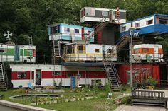 """redneck mansion"" hahaha"