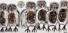 Série les petits écorchés - Galerie Perreault Renaissance, Art Abstrait, Artwork, Painting, Sign, Toile, Artist, Paint, Work Of Art
