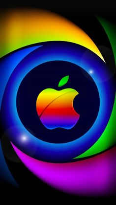 Apple Logo Wallpaper Iphone, Iphone Wallpaper Video, Iphone Homescreen Wallpaper, Watch Wallpaper, Flower Phone Wallpaper, Rainbow Wallpaper, Cellphone Wallpaper, Wallpaper Backgrounds, Mobile Wallpaper