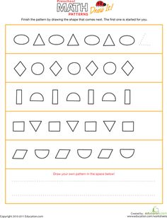 1000 images about math patterns sorting on pinterest pattern blocks sorting and fall patterns. Black Bedroom Furniture Sets. Home Design Ideas