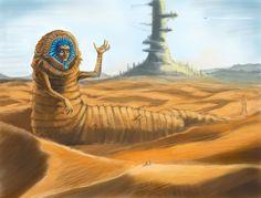 God Emperor of Dune by solomon-russell on deviantART