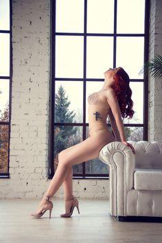 Lingerie set erotic lingerie see through by ManifiqueStudio