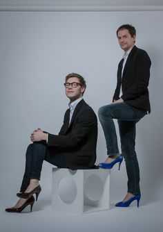 High heels look cool on men too.  One of the things I suggest in Best Foot Forward is that fashion designers pick up on this!  Check it out at www.bookerpress.com