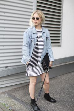 Onimos, Jeansjacke, Style, ootd, lotd, Look, Stripes, Wood Wood, Levi's, Vintage, Slow Fashion, Streetstyle, vegan, Good Guys, Stella McCartney, Inspiration, Summer, Fashion, Blog, stryleTZ