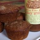 Apple Butter Muffins going to have to get some apple butter from my mom.