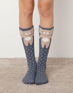 52 My style Street High Heels You Will Want To Keep - Shoes Styles & Design Funny Socks, Cute Socks, My Socks, Baby Tights, Estilo Lolita, Moda Casual, Girly, Fashion Socks, Tight Leggings