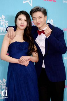 Our favorite teen couple BTOB Sungjae and Red Velvet Joy attend and win awards tonight at MBC Entertainment Awards. Sungjae And Joy, Sungjae Btob, Wgm Couples, Kpop Couples, Yongin, South Korean Girls, Korean Girl Groups, Couple Photography Poses, Friend Photography