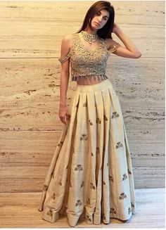 Youdesign Cotton Silk Crop Top Lehenga In Beige Colour Size .- Youdesign Cotton Silk Crop Top Lehenga In Beige Colour Size Upto 66 - Red Lehenga, Lehenga Choli, Anarkali, Lehenga Skirt, Lehnga Blouse, Bridal Lehenga, Indian Attire, Indian Ethnic Wear, Indian Wedding Outfits