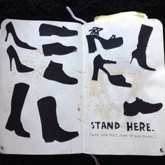 Wreck This Journal - Stand Here