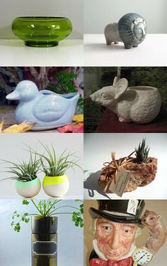 A  Planter Galaxy by Jenny Roust on Etsy--Pinned with TreasuryPin.com