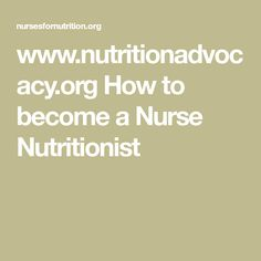 how to become a certified nutritionist in texas