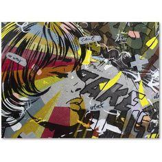 Trademark Fine Art Take Away Canvas Art by Dan Monteavaro, Size: 18 x 24, Multicolor