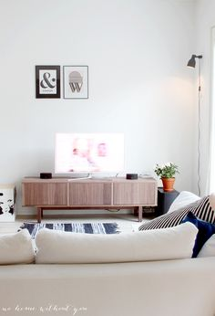 New tv bench from Ikea Stockholm collection, for bedroom? $350