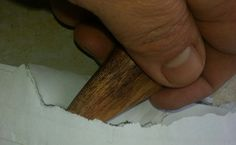The Educated Caveman - Letter opener from the wood of an African tree.