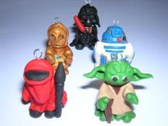 Cthulhu Crochet and Cousins: Star Wars Stitch Markers! Cute Thing of the Week