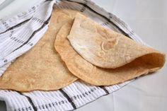 whole wheat flour tortillas.