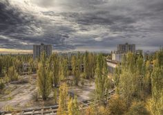 Remainders of the Chernobyl Disaster