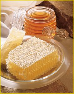 Sweet comb honey!