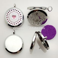 Flower Locket Can Open Pierced Filigree Antique Bronze Essential Oil Aroma…