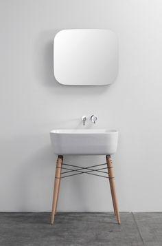 Badmöbel Set michael hilgers ray spiegel keramik waschbecken