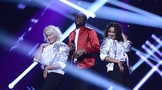 Boris René m dansare Melodifestivalen 2017. Deltävling 1 no 1.