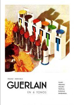 Guerlain Rouge Indeleble lipstick (1937)