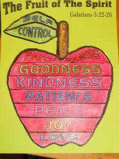 Hands On Bible Teacher: Fruit of the Spirit Lesson 2