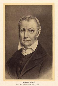 Aaron Burr. This Day in History: Jul 11, 1804: Burr slays Hamilton in duel