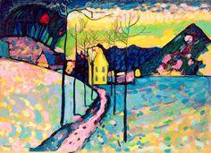 Paysage d'hiver | Vassily Kandinsky
