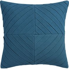 "meridian blue-green 16"" pillow with down-alternative insert - $39.95 (less 15% is $33.95)"