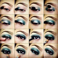 Fotos de moda | Paso a paso para aplicar maquillaje de ojo | http://soymoda.net
