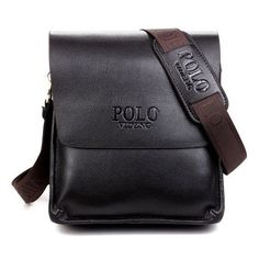 Fashion men bags design leather messenger bag, high quality man messenger bag
