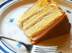 This is a classic southern caramel cake. No imitations or substitutions accepted. This is the real deal.