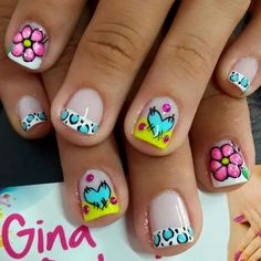 Aya, francés, puntos Fancy Nails, Love Nails, Pretty Nails, Shellac Nails, Diy Nails, Acrylic Nails, Fabulous Nails, Perfect Nails, Nails For Kids