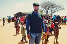 50 Cent in Somalia fighting hunger! For every shot sold a meal is provided for a child in need.