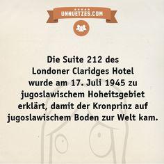 Wie es dazu kam: http://www.unnuetzes.com/wissen/10697/jugoslawischer-kronprinz/