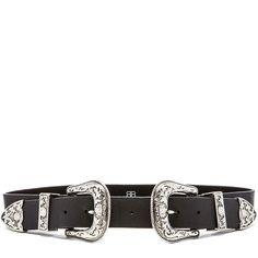 B-Low the Belt Bri Bri Waist Belt Accessories (145 CHF) ❤ liked on Polyvore featuring accessories, belts, acc's, acessorios, cintos, leather waist belt, double buckle belt, leather belt, waist belt and real leather belts