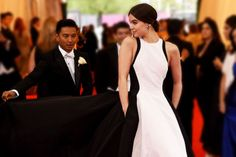 Here's How Your Fave Celebs Got Ready for the 2014 Met Gala