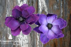 Anemone Sugar flower tutorial