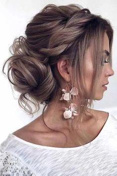 50 Gorgeous And Stunning Wedding Updo Hairstyles For Long Hair - Page 29 of 50 - Hair styles - Wedding Hairstyles Romantic Wedding Hair, Long Hair Wedding Styles, Elegant Wedding, Elegant Bun, Wedding Vintage, Chic Wedding, Trendy Wedding, Summer Wedding, Rustic Wedding