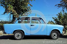 Royalty Free Stock Photos: Old trabant car was produced former east german. Old Cars, Royalty Free Stock Photos, German, Van, Image, Deutsch, German Language, Vans, Vans Outfit