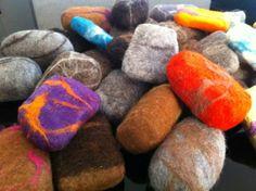 By Elena Kyriakarakou. Felted Soap, Soaps, Wool, Hand Soaps, Soap