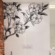 Flower Peel and Stick Wall Decals