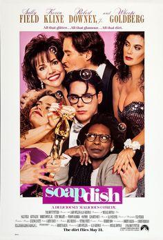 Soapdish (1991) Review Art Vintage, Vintage Movies, 1990s Films, Kevin Kline, Elisabeth Shue, Whoopi Goldberg, Picture Movie, The Best Films, Original Movie Posters