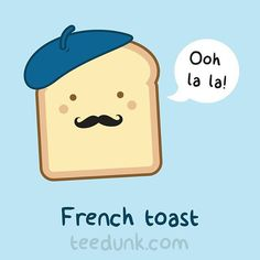 Today's freshly brewed illustration :) #tshirt #funny #ai #illustrator #design #vector #cool #illustration #art #adobeillustrator #graphicdesign #create #draw #hispter #trendy #tattoo #fashion #trending #teedunk #l4l #like4like #likeforlike #followforfollow #kawaii #toast #frenchtoast #beret #moustache Feel free to share our original pics but please please credit us and we'd love to know if you do! :)
