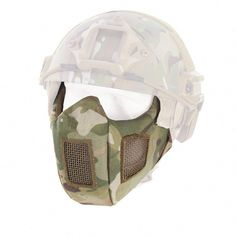 Trustful M50 Mask Army Airsoft Tactical Wargame Paintball Full Face Skull Gas Mask With Fan With Goggles Protective 22.5*17.5cm Wholesale Camping & Hiking