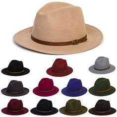1ab4598d42e d2d Hats Unisex Plain Fedora Hat With Leather Belt Band Available Colours   Red Wine