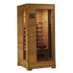 HeatWave Sauna SA2400 1 Person Ceramic Infared Sauna