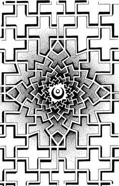 Best Geometric Tattoos And Symbolism Geometric Mandala Tattoo, Geometric Tattoo Design, Geometric Designs, Geometric Art, Lace Tattoo Design, Mandala Tattoo Design, Tattoo Designs, Dot Tattoos, Sleeve Tattoos