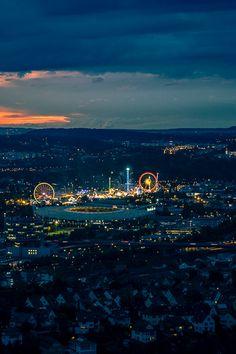 #Stuttgart im #Sommer aus der Luft